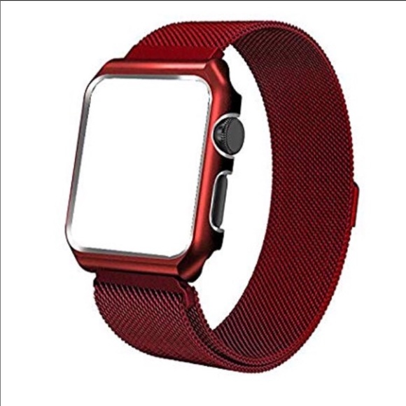 Accessories - 40mm 2-in-1 Magnetic Apple Watch Band/Bumper Combo